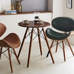 円形60cmコーヒーテーブル!デザインチェアーと相性抜群!CT-03