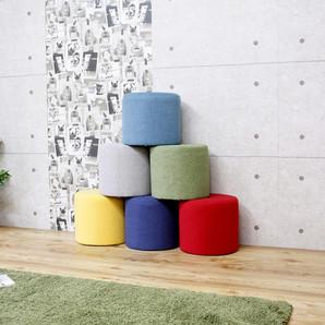 選べる6色対応のカラースツール!円形!ST-10